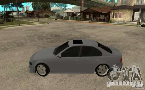 BMW 523i CebeL Tuning для GTA San Andreas вид слева
