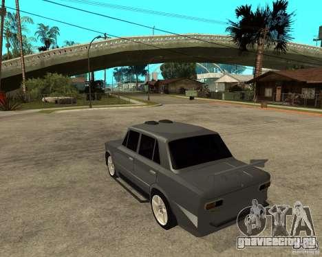 ВАЗ 2101 Hard tuning для GTA San Andreas вид слева