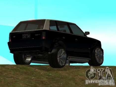 Huntley из GTA IV для GTA San Andreas вид слева
