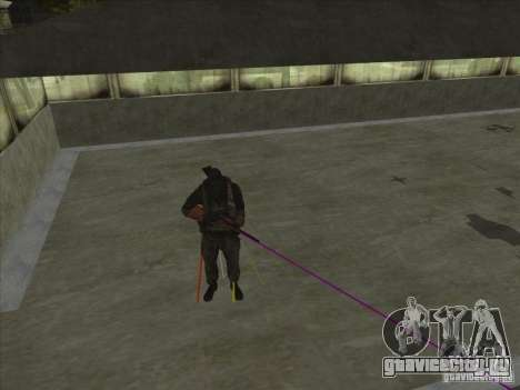 Weapon with laser для GTA San Andreas