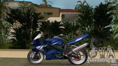 Yamaha YZF R6 2005 для GTA Vice City вид слева