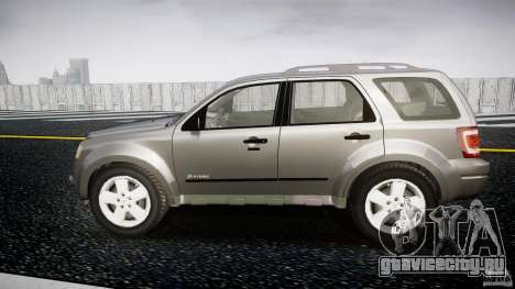 Ford Escape 2011 Hybrid Civilian Version v1.0 для GTA 4 вид слева