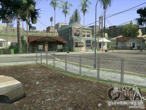 Grove Street Retextured для GTA San Andreas десятый скриншот