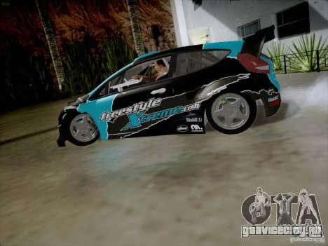 Ford Fiesta RS для GTA San Andreas вид слева