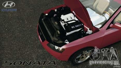 Hyundai Sonata v1.0 для GTA 4 вид сзади