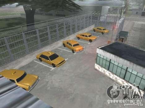 Первый таксомоторный парк версия 1.0 для GTA San Andreas третий скриншот