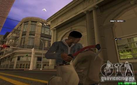 Ледокол (Красный) для GTA San Andreas третий скриншот