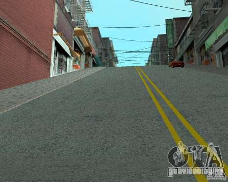 Новые дороги в San Fierro для GTA San Andreas второй скриншот