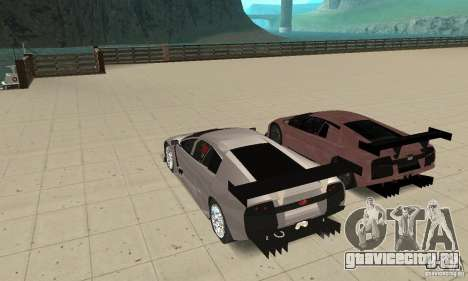 Lamborghini Murcielago R GT для GTA San Andreas двигатель