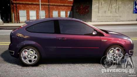 Ford Focus ST MkII 2005 для GTA 4 вид слева