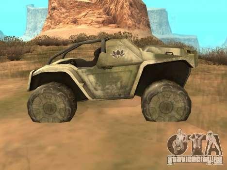 УАЗ-8 Оцелот для GTA San Andreas вид слева