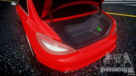 Mercedes-Benz CLS 63 AMG 2012 для GTA 4 вид изнутри