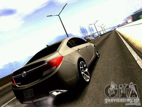 Opel Insignia для GTA San Andreas вид слева