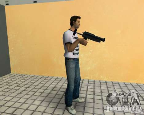 Пак оружия из GTA 4 Lost and Damned для GTA Vice City