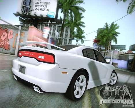 Dodge Charger 2011 v.2.0 для GTA San Andreas вид справа