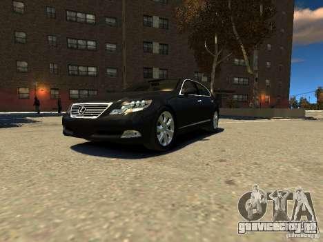 Lexus LS600 V2.0 для GTA 4