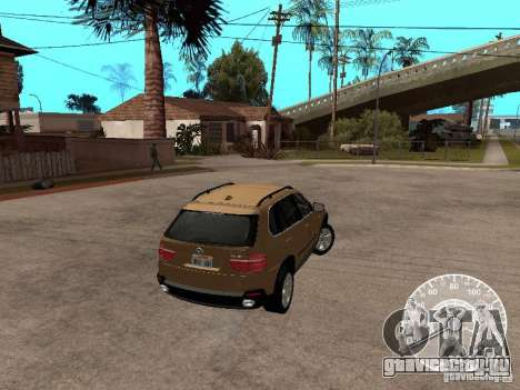 BMW X5 E70 для GTA San Andreas вид слева