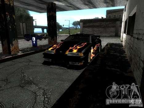Винил Рэйзора из Most Wanted для GTA San Andreas вид изнутри