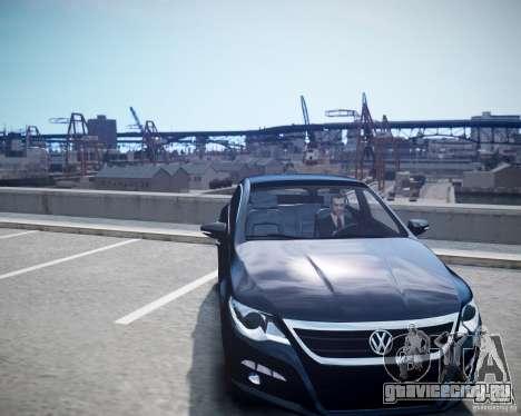 Volkswagen Passat CC для GTA 4 вид справа