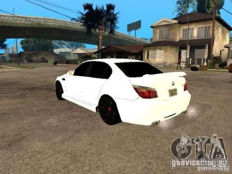 Bmw M5 Ls Ninja Stiil для GTA San Andreas вид слева