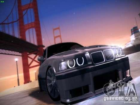 BMW M3 E36 320i Tunable для GTA San Andreas вид слева