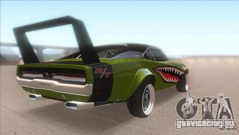 Dodge Charger RT SharkWide для GTA San Andreas вид справа