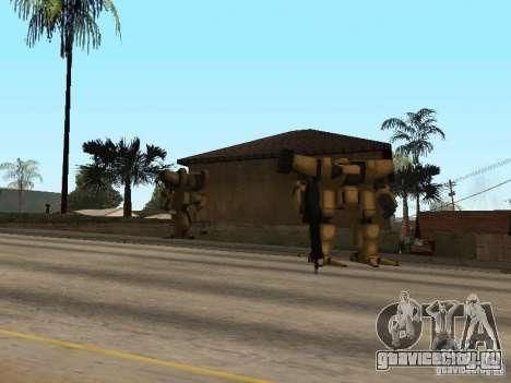 Трансформеры для GTA San Andreas второй скриншот