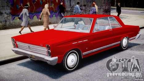 Ford Mercury Comet 1965 [Final] для GTA 4 вид изнутри