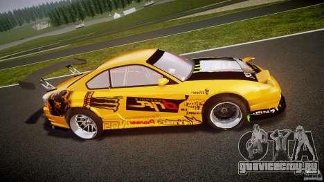 Nissan S330SX GT Drift Texture для GTA 4 вид слева