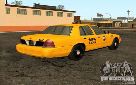 Ford Crown Victoria Taxi 2003 для GTA San Andreas вид справа