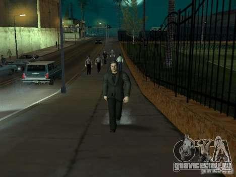 Black Stallion Peds для GTA San Andreas шестой скриншот