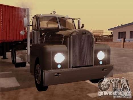 Mack B 61 для GTA San Andreas вид слева
