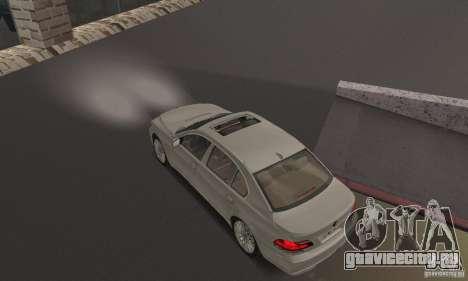 Ярко белый цвет фар для GTA San Andreas
