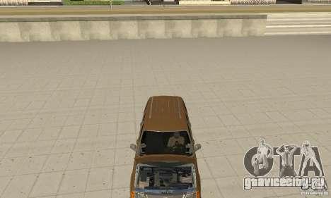Ford Explorer 2002 для GTA San Andreas вид изнутри