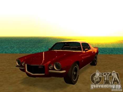 Chevrolet Camaro Z28 1972 для GTA San Andreas