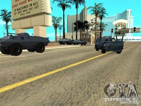 S.W.A.T. и FBI Truck ездят по улицам для GTA San Andreas третий скриншот
