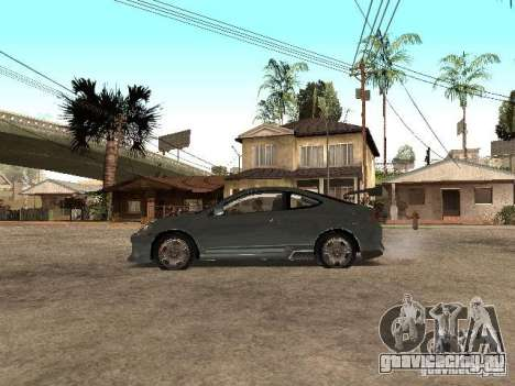 Acura RSX Charge для GTA San Andreas вид слева