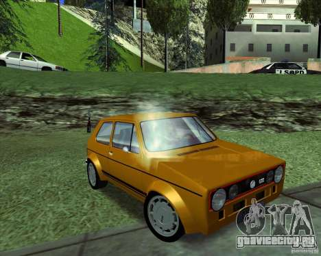 Volkswagen Golf MK 1 GTI для GTA San Andreas вид справа