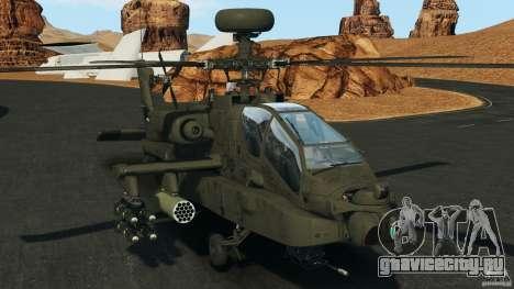 Boeing AH-64 Longbow Apache v1.1 для GTA 4