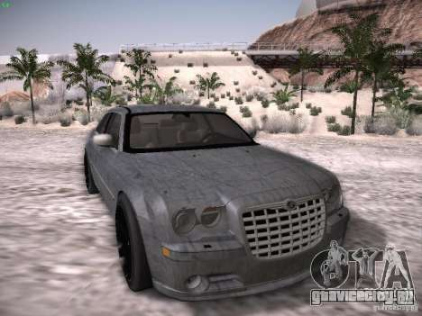 Chrysler 300C SRT8 для GTA San Andreas вид снизу