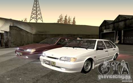 ВАЗ 2114 Quality для GTA San Andreas вид справа