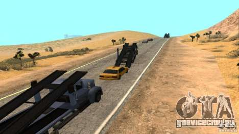 New HQ Roads для GTA San Andreas седьмой скриншот