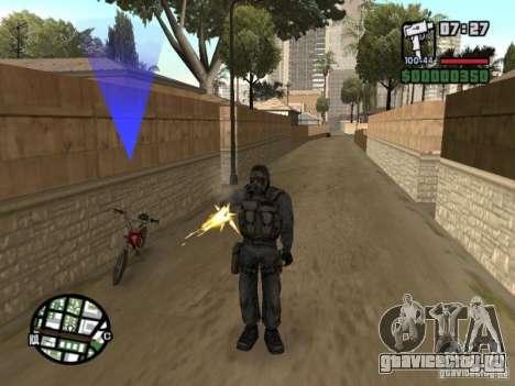 Сталкер наёмник в противогазе для GTA San Andreas второй скриншот