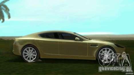 Aston Martin Rapide для GTA Vice City вид слева