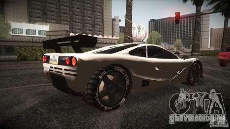 McLaren F1 LM для GTA San Andreas вид справа