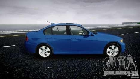 BMW 3-Series Unmarked [ELS] для GTA 4 вид сзади