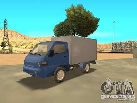 Hyundai Porter для GTA San Andreas