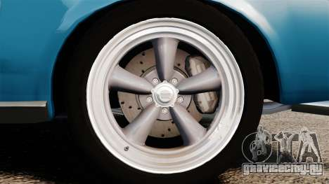 Ford Mustang Customs 1967 для GTA 4 вид сзади