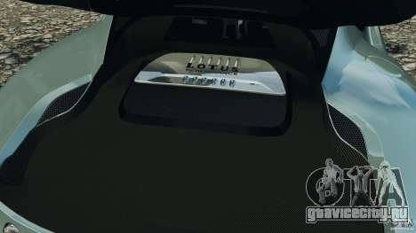 Lotus Evora 2009 v1.0 для GTA 4 вид сбоку