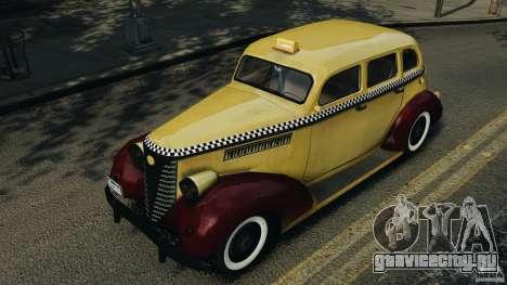 Shubert Taxi для GTA 4 вид изнутри